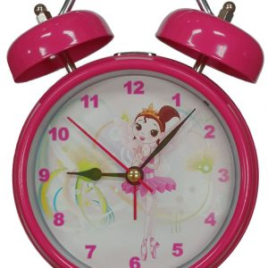 Pink Ballerina Singing Alarm Clock