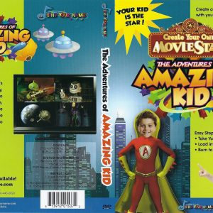 Amazing Kid photo-personalized DVD