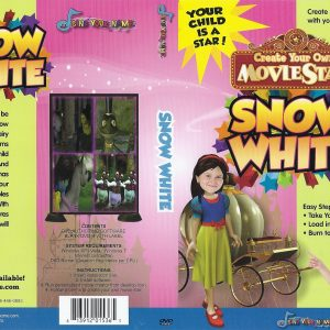 Snow White Photo Personalized DVD