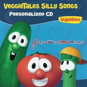 VeggieTales Silly Songs Personalised Music CD or Mp3 Album