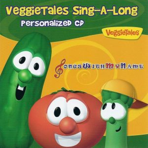 VeggieTales Sing-A-Long Personalized Music CD or Mp3 Album