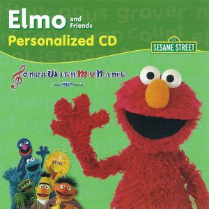 Elmo & Friends Personalized Music CD or Mp3 Album